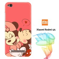 Mickey and Minnie Mouse E0171 Casing Redmi 4A Full Body Print 3D Case