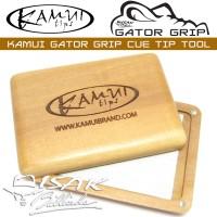 Kamui Gator Grip - Cue Tip Tool - Billiard Stick Biliar Shaper Scuffer