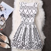 Jual Cocktail Party Dress Elegance - Dress Pesta Murah