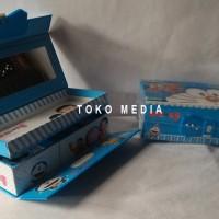 Kotak / Tempat Pensil Pakai Kode Angka w/ Gambar Hologram DORAEMON