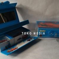 Kotak / Tempat Pensil Pakai Kode Angka Gambar Hologram CARS MCQUEEN