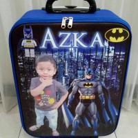 koper custom anak hadiah ulang tahun tas ransel