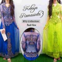 Gaun Nikah Akad Wisuda Promo!! Maxi Dress Kebaya Ramashinta Tile +