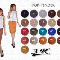 Rok Pendek 3R katun stretch Size STD (M,L)-XL-XXL-XXXL