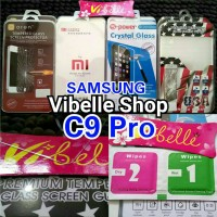 Tempered Glass Samsung C9 Pro Screen Guard Anti Gores Kaca C 9 C9pro