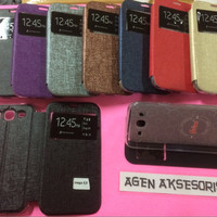 Flipcover Samsung Mega 5.8 i9150 i9152 Sarung Buku Flip Case HP