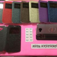 Flipcover Samsung C7 5.7 inchi Sarung Buku Flip Case HP