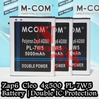 Baterai Polytron Zap 6 Zap6 Cleo 4g500 Pl-7w5 Double Power Protection