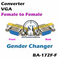 BA-172F-F Converter VGA Female - Female Gender Changer TERBAIK