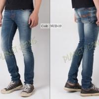 harga Celana Jeans Nudie Skinny Kualitas Premium Pria Model Pensil - Nud19 Tokopedia.com