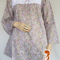 Jual Baju hamil dan menyusui Renda bunga Ap911 Murah
