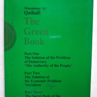 BUKU LANGKA The Green Book - Muammar Al Qathafi (Muammar Gaddafi)