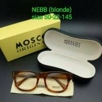 Kacamata Moscot Nebb Blonde Frame Kacamata Best Quality grade ori