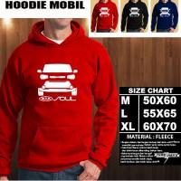 Sweater/Hoodie Mobil KIA SOUL SILUET TD/Hoodie Otomotif/Jaket Mobil