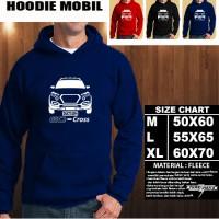 Sweater/Hoodie Mobil DATSUN GO CROSS SILUET TD/Hoodie Otomotif/Jaket