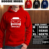 Sweater/Hoodie Mobil DATSUN REDI GO SILUET TD/Hoodie Otomotif/Jaket
