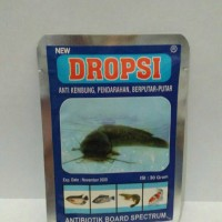 DROPSI - Anti Kembung, Pendarahan, Berputar-Putar pada ikan