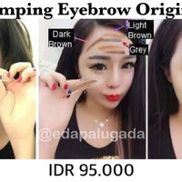 shezi stamping eyebrow original 100%,stempel alis,makeup brush