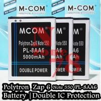 Baterai Polytron Zap 6 Note 4G550 PL-8AA6 Double Power IC Protection