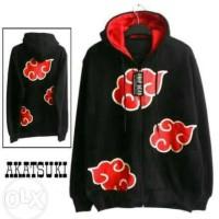 harga Jaket Sweater Hoodie Anime Naruto Akatsuki Team (flecee Tebal) Tokopedia.com