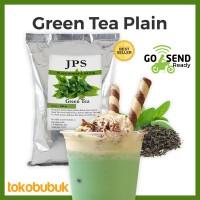 JPS Bubuk Green Tea Plain (Bubuk minuman dan makanan)