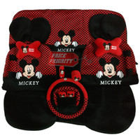 Sarung Jok Mobil / Bantal Mobil 18 in 1 / 18in1 Mickey Mouse HM