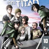 Manga / Komik Attack On Titan Shingeki No Kyojin English Vol 10