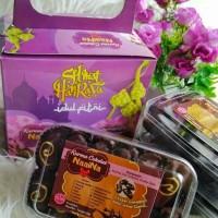 Jual PROMO Paket Lebaran Kurma Coklat Naaina [Mede, keju, durian]Gratis Box Murah