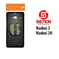 Casing HP Xiaomi Redmi 2, 2S Apple Gucci Custom Hardcase Cover