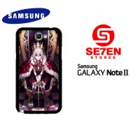 Casing HP Samsung Galaxy Note 2 anime queen Custom Hardcase Cover
