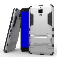 Soft Hard Case Xiaomi Mi 4 Mi4 Mi4w Casing HP Silikon Armor Stand Army
