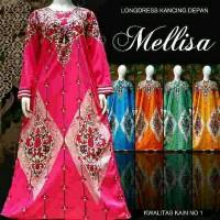 Jual daster Muslim alissa baju tidur longdress batik Murah