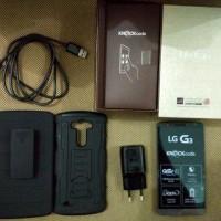 Handphone bekas LG G3 16GB D855 MULUS | Garansi resi LG Indonesia