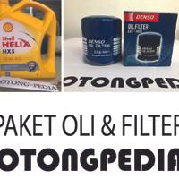 Paket Oli mobil dan Filter DAIHATSU XENIA / TERIOS / GRAN MAX / LUXIO