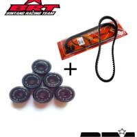 Promo Paket V Belt + Roller BRT Honda Beat / Scoopy Karbu