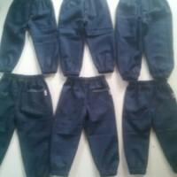 Jual Grosir Jogger Anak (1-5 tahun) - Jogger Denim Anak Polos Murah