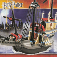 EXKLUSIF TERLARIS LEGO 4768 - Harry Potter - The Durmstrang Ship