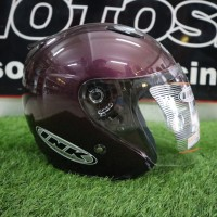 Helm INK Centro Jet Solid Purple (ORIGINAL)