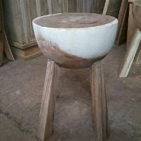stool mangkok pendek (nakas,rak,meja, kursi &sofa,lemari)