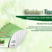 DISCOUNT [ Sachet ] Majakani Golden tissue plus aloe vera ( alcohol fr