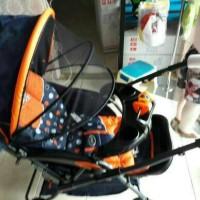 kereta dorong bayi/Stroller pliko Retro 389R/dorongan bayi pliko
