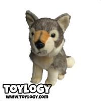 Boneka Hewan Anjing Husky ( Siberian Husky Dog Doll ) 10 inch