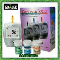 Alat Test Darah GCU Easy Touch 3in1 EasyTouch Alat Cek Gula Darah
