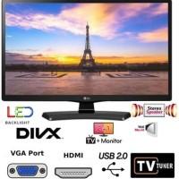 """NEW!!! Monitor TV LED LG 24"""" Inch 24MT48AF"""