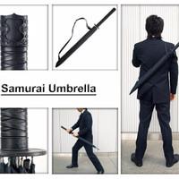 Jual Payung Samurai Payung pedang gagang samurai Umbrella katana ninja Murah