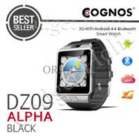 Cognos Smartwatch DZ09 Alpha 3G Android 4.4 WIFI - Black TERMURAH