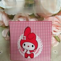 Plastik Fancy Cookies - Kue - Permen - Accessories My Melody Red 7x7