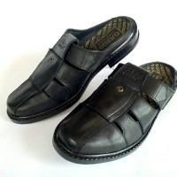 sandal slop kulit asli grd