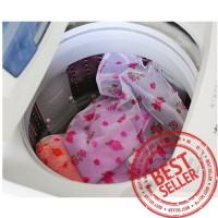 Tempat Baju BRA Celana Dalam Kotor/Tas Laundry Jaring GAMBAR (30X40c
