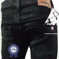Celana Jeans Pria / Cowok DC BDG Pensil/Skinny/Streach Hitam